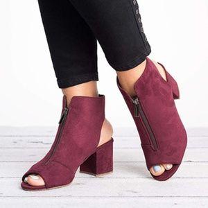 PeepToe   Style  Boot